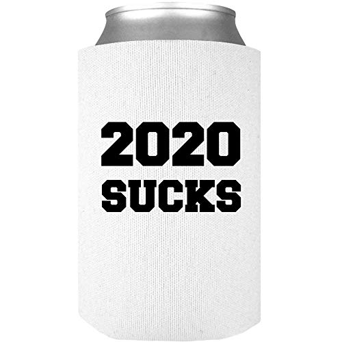 2020 Sucks Funny Novelty Drink Can Wrap - A Cool Virus Quarantine Beverage Insulator - Makes A Great Gift