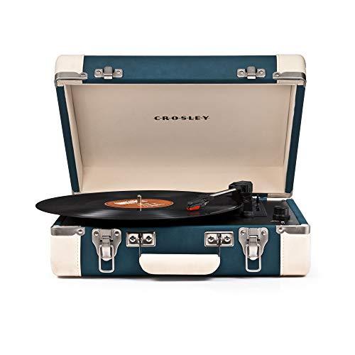 Crosley CR6019A-TL Direct drive audio turntable Blue audio turntable - Audio Turntables (Direct drive audio turntable, Semi Automatic, Blue, 45,78 RPM)