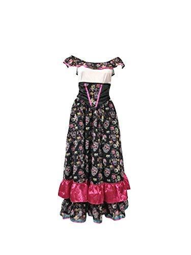 Emmas Wardrobe Día del Traje Muerto - Traje de Steampunk para Halloween o desfiles - Materiales de Primera Calidad - Reino Unido Tamaños 8-10