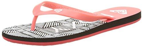 Roxy Tahiti V, Chanclas Mujer, Multicolor Pink Black Pib, 36 EU