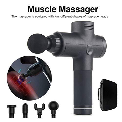 Massagegerät BL-3400 mit 3 Aufsätzen Rücken Massage-Hammer Vibration