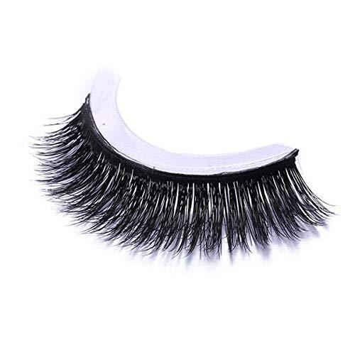Self-adhesive Mink False Eyelashes Natural Curly Thick Free Glue Eye Lashes Makeup Tools - 023
