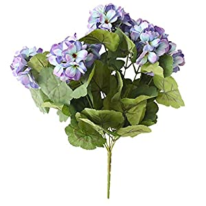 Silk Flower Arrangements Fake Flower 7-Head Begonia Artificial Flowers Cloth Simulation Flowers Vivid Home Decoration Bouquets Artificial Roses Flower (Color : 3)