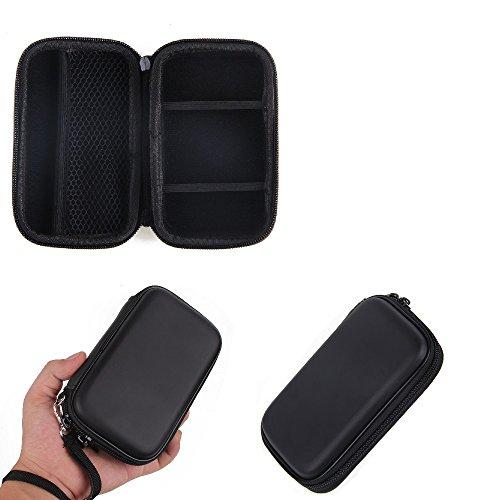 K-S-Trade Kamera Tasche Hard Case Hardcase Schutz Hülle Für Kompaktkamera Kompatibel Mit Sony Cyber-Shot DSC-WX220 Mit Platz Für Speicherkaten, Ersatzakku, Ladekabel