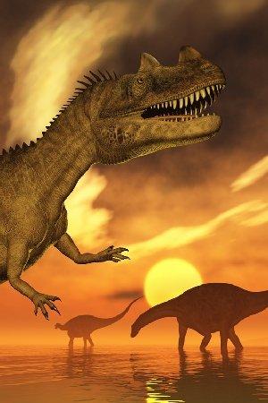 AM Wohnideen vlies-fotobehang voor kinderkamer Dino