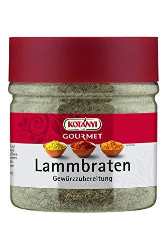 Kotanyi Gourmet Lammbraten Gewürzzubereitung | kräftig-würzig, 400 ml