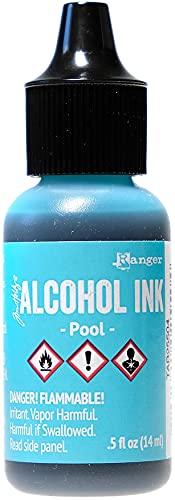 Ranger Ink Tim Holtz Adirondack Alcohol Ink Brights Singles: Pool