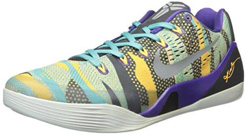 Nike Kobe IX EM (Pop Art) corte morado/reflectante silver-atomic mango-turquoise
