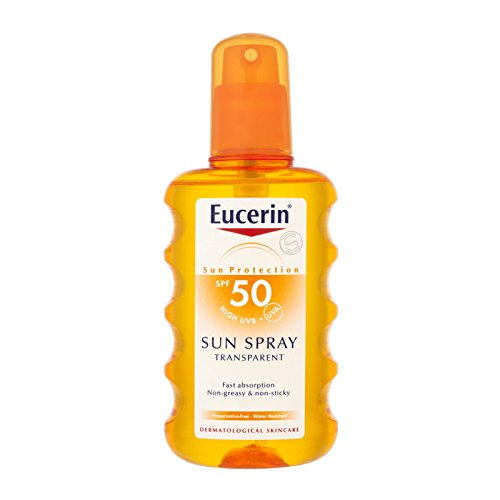 Eucerin Sensitive Protect Sun Spray Transparent LSF 50, 200 ml Lösung