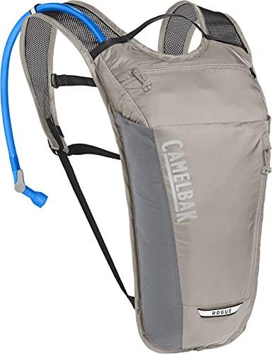 CamelBak Rogue Light Mochila de hidratación, Unisex Adulto, Aluminio y Negro, Talla única