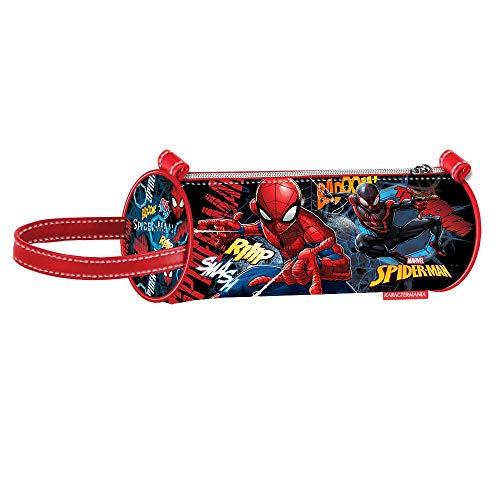 Spiderman Smash-Zylinder Federmäppchen Astuccio, Blu