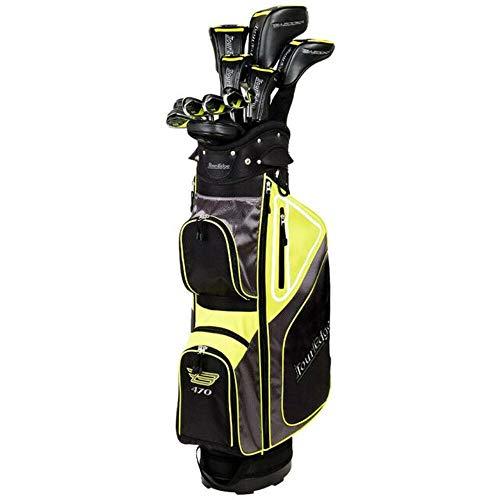 Tour Edge Golf- Bazooka 470 Black Complete Set with Bag Graphite Regular Flex
