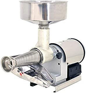 Omcan 41420 MEDIUM-DUTY ELECTRIC TOMATO SQUEEZER WITH 0.57 HP MOTOR AND STAINLESS STEEL COVER
