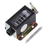 Contatore meccanico - Contamonete a ricircolazione manuale a corsa manuale con ricircolo manuale a 5 cifre a 5 cifre D67-F