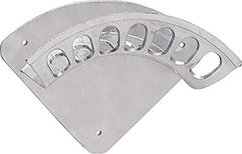 GEKA Wandschlauchhalter 348x144mm Größe 3 aus Aluminium, Silber, 48x28x28 cm
