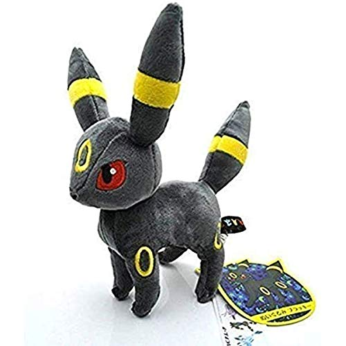 Eevee Evolution Umbreon Anime Animals Plush Plushies Stuffed Doll 8'