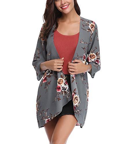 Aibrou Cárdigan Kimonos Mujer Camisolas y Pareos Pareo Play