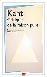 Critique de la raison pure - TRADUCTION ET PRESENTATION PAR ALAIN RENAUT d'Emmanuel Kant