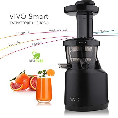Italiaanse trekker Vivo lage snelheid, 43 rpm, 0,5 liter, 150 watt. zwart.