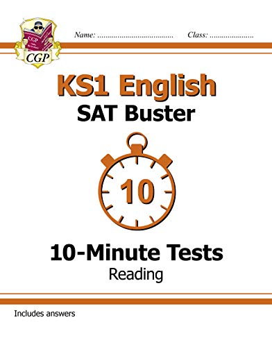 KS1 English SAT Buster 10-Minute Tests: Reading (for the 2019 tests) (CGP KS1 English SATs) (English Edition)