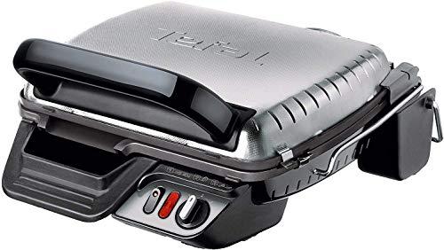 Tefal Kontaktgrill 3in1 mit Überback-Funktion und Auffangschale, doppelte Grillfläche, Aufklappbar als Tischgrill/BBQ, Sandwich, Steak, Panini; regelbarer Thermostat, antihaftbeschichtet, 2000 Watt