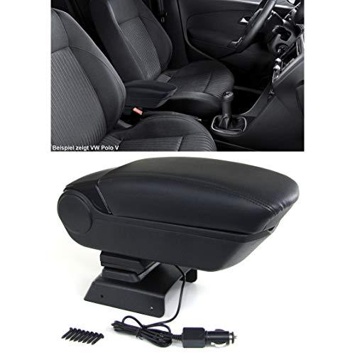 Carparts-Online 33567 Premium Mittelarmlehne Armlehne mit Staufach + 2 USB