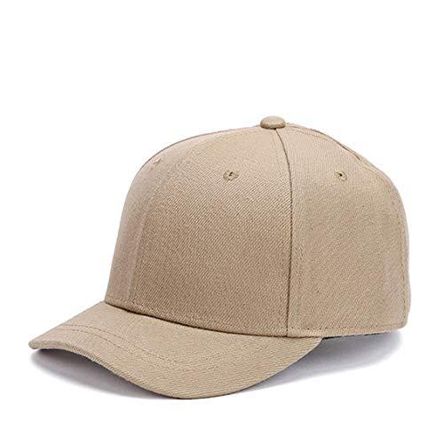 Clape ショートブリム トラッカー キャップ コットンツイル スウェット ベースボールキャップ 短ツバ BBキャップ ソリッドトラック/野球スタイルの帽子(G-CRT0-カーキ)