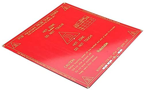Good Stability Printer Accessories 3D Printer Parts, Heated Bed MK2B PCB for 3D Printer for R-epRap M-endel Replace Damaged
