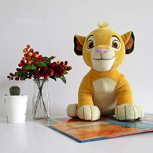 yitao Peluches 30cm Nueva Lindo Sentado Alto Simba El Rey León Juguetes De Peluche Anime Simba Muñecos De Peluche Suave Niños Niña Regalos