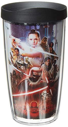 Pôster Tervis Star Wars Episódio IX sem BPA Copo de viagem com isolamento e tampa, 473 ml - Tritan, transparente