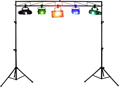 Odyssey Ltmts8 8 Feet Portable Mobile DJ Truss Kit Lighting Stand and Truss Package from Odyssey