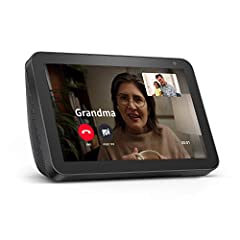 "Alexa can show you more - With an 8"" HD screen and stereo sound, Alexa can help manage your day at a glance. Connect with video calling and messaging - Call friends and family who have the Alexa app or an Echo device with a screen. Make announcements..."