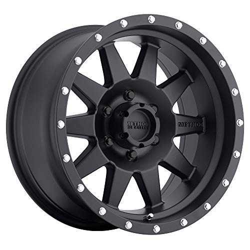 Method Race Wheels 301 The Standard Matte Black 17x8.5