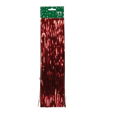 Lametta Folie glatt rot 48cm 300 Fäden
