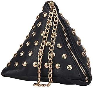 Yuejin Rivets Clutch bags YJ0754600XB Black