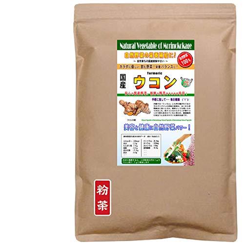 森のこかげ 秋ウコン 国産 野菜 粉末 パウダー 業務用 300g