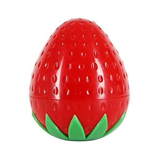 Sungpunet Fruit Forme Crème Bouteille multi Utilisation Mignon pot cosmétique Belle Lotion Container Bouteille Vide Pot (Fraise) utile et beau
