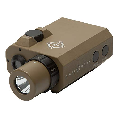 Sightmark LoPro Mini Combo Flashlight and Green Laser Sight,...