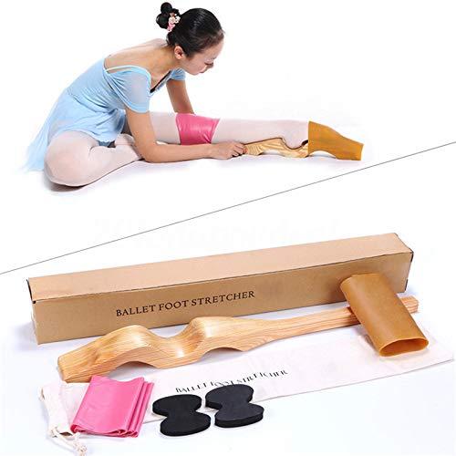 SKIESOAR - Allungatore Staccabile per Danza e Ginnastica, con Fascia Elastica