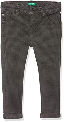 United Colors of Benetton Rock B2 Pantalones, Gris (Grigio All/Over 901), 110 (Talla del Fabricante: X-Small) para Niños
