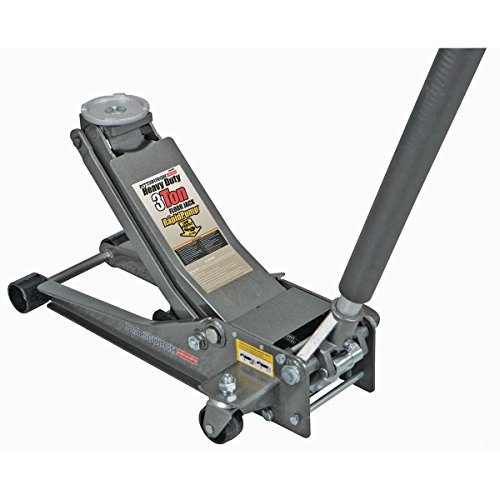 3 ton Heavy Duty Low Profile Floor Jack with Rapid Pump by Pittsburgh Automotive