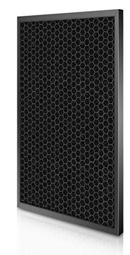 SUJIE Filtro de Reemplazo Purificador Purificador de Aire HEPA Filtro de Piezas 370 * 167 * 35 mm y Filtro de carbón Activado 385 * 185 * 10 mm for Tefal XD6060F0 PU4025 Reemplazo