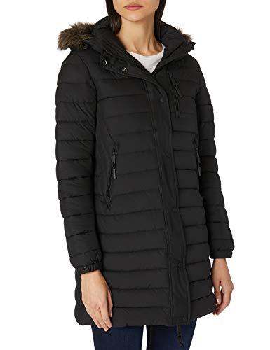 Superdry Super Fuji Jacket Veste, Noir, L (Taille Fabricant:14) Femme