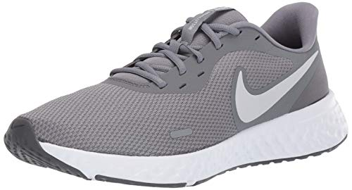 Nike Men's Revolution 5 Running Shoe, Cool Grey/Pure Platinum-Dark Grey, 9 Regular US