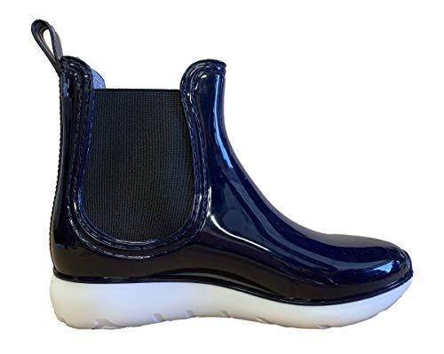 Henry Ferrera Womens Kimmy Short Rain Boots, Adult, Navy, 8 M US