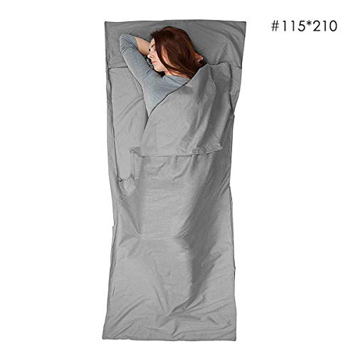 Tianhaik slaapzak voor volwassenen, 3 seizoenen, huidvriendelijk reizen, slaapzak voor op de camping, wandelen, hotel