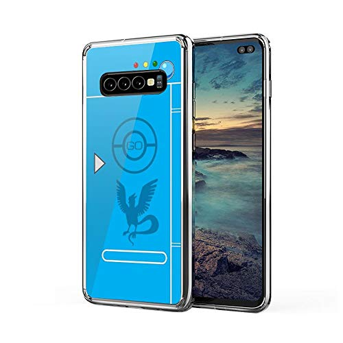 Karlatis Mart PokemonGO Team Mystic Themed Pokedex Case Case Cover Compatible for Samsung Galaxy S9Plus S9+ 2344896141433