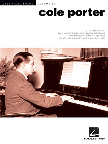 Cole Porter: 30 (Jazz Piano Solos): Jazz Piano Solos Series Volume 30