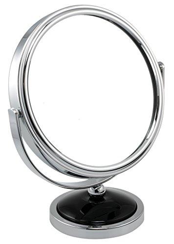 FMG 14 cm (14 cm) 5 x Grossissement double face rond Miroir de maquillage