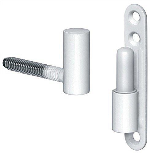 Universalband f.Fenster u.Türen K 3172WF,Rolle ø 15mm,Stahl kunststoffbesch.weiß ; 1 Stück